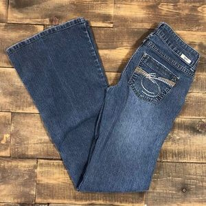 Tyte Jeans Boot Cut Low Rise Stretch